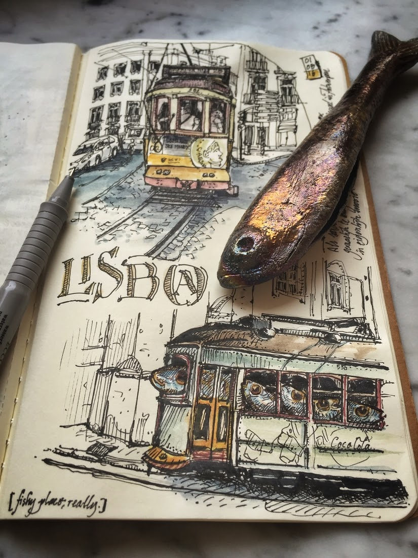 08-Lissabon-a-fishy-place-dessinauteur-Urban-Sketches-and-Travel-Journals-on-Moleskine-www-designstack-co