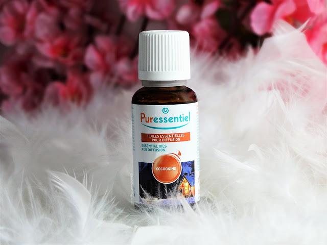 avis Mélange Huiles Essentielles Cocooning de Puressentiel, blog bougie, blog parfum, blog beauté
