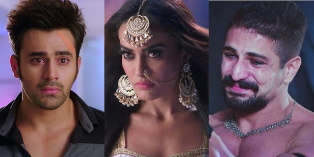 Shocking! Bela breathes last in Mahir's arm Sumitra's victory in Naagin 3