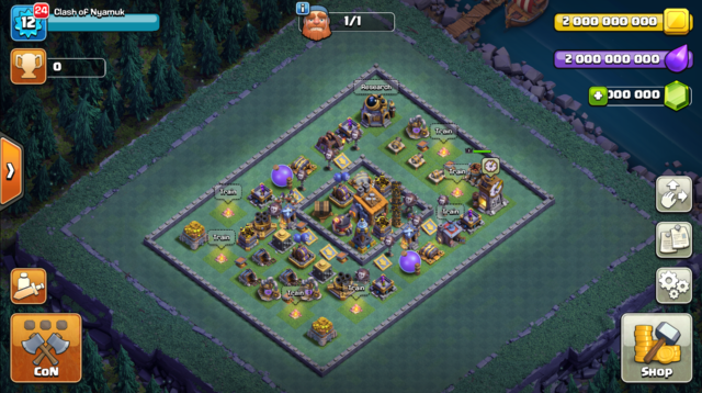 Clash of Nyamuk - Clash of Clans Private Server
