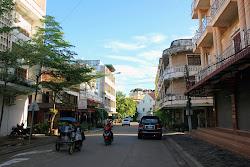 City streets of Pakse - Laos