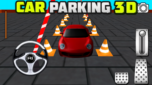 Confessions of a Frugal Mind: Free Game App Download ~ Car Parking 3D