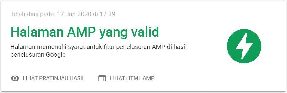 Cara Memilih Template Blogger AMP yang Baik