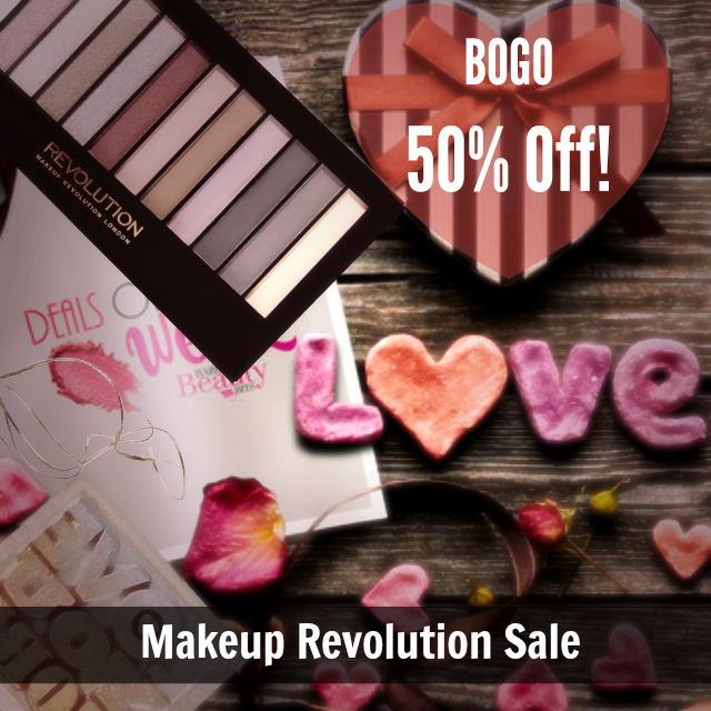 Makeup Revolution BOGO Sale At Ulta by Barbie's Beauty Bits