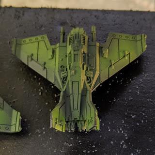 Basecoated Lightning Fighter