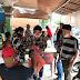 FORKOMDES & PAC IPK Sibiru-biru Bagikan Masker, Sembako & semprotkan disenfektan ke rumah Ibadah & Rumah Warga