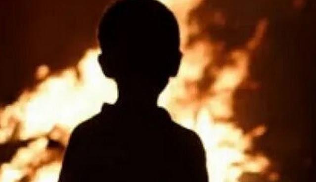 Под Курском мать сожгла 8-летнего сына заживо! Ребенок умер в больнице