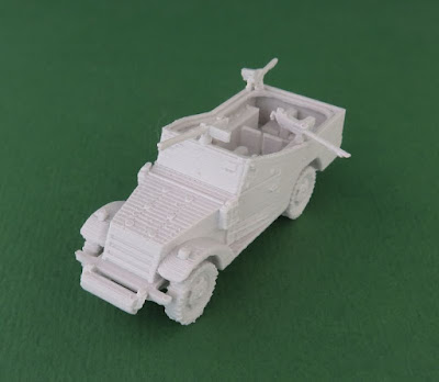 White Scout Car picture 2