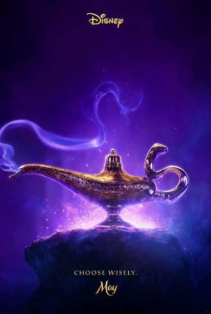 ويل سميث في دور الجني الأزرق يظهر بشكل غريب وغير متوقع في آخر مشاهد فيلم Aladdin الجديد poster