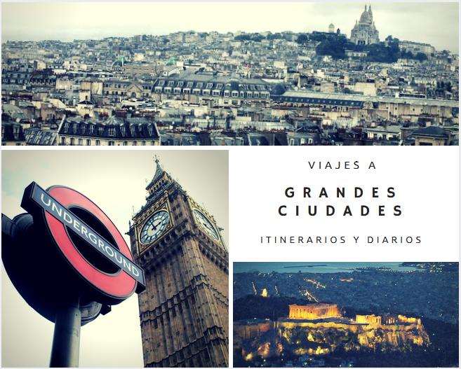 Diarios y viajes por grandes ciudades
