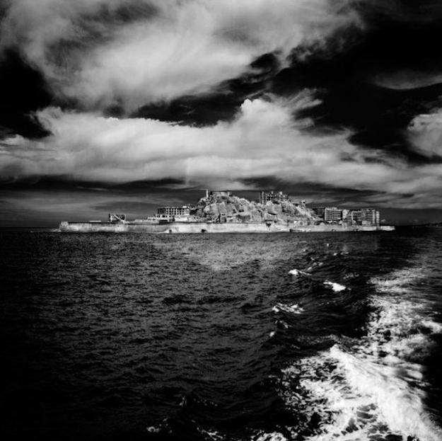 Ghost Town Hashima Island Japan