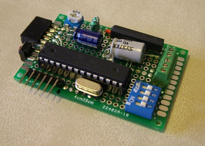 The Life of Kenneth: Addressable I2C Arduino Motor Driver