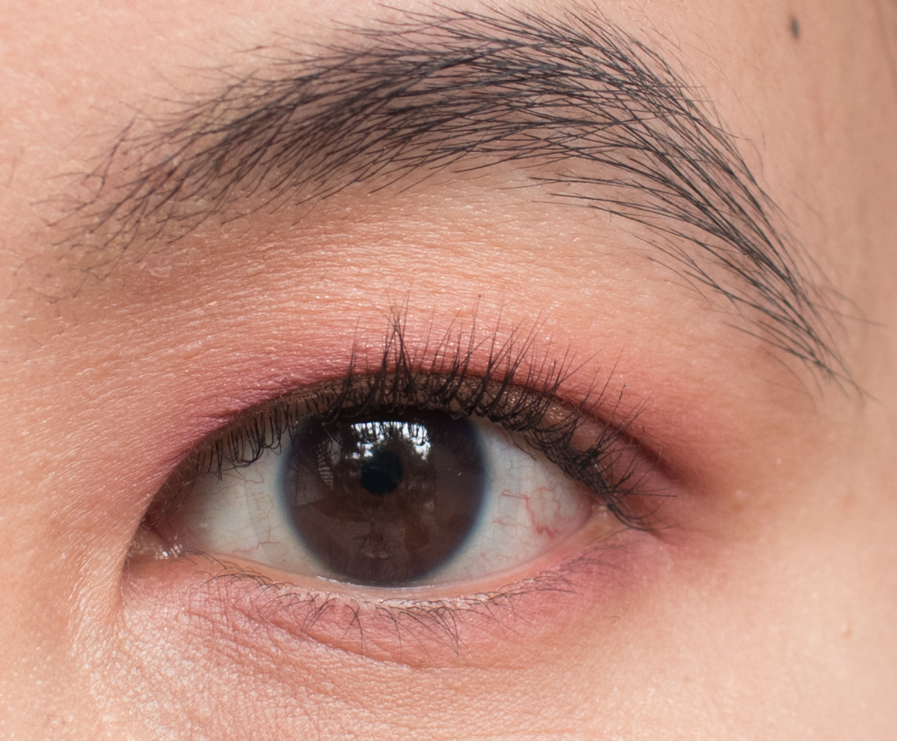 Warm Berries Makeup Look Open Eyes