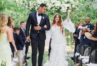 Arik Mindy Beautifull Couple Wedding Day