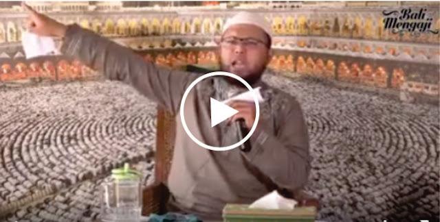 Astaghfirullah, Video: Ustadz Wahabi Takfiri Sebut FPI Front Penghancur Islam