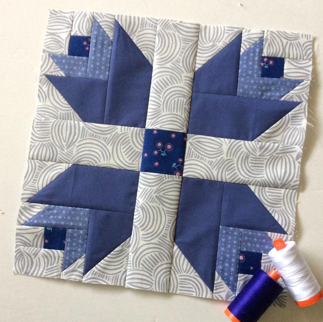 Happy Quilting: February Aurifil Designer BOM : dutch treat quilt - Adamdwight.com