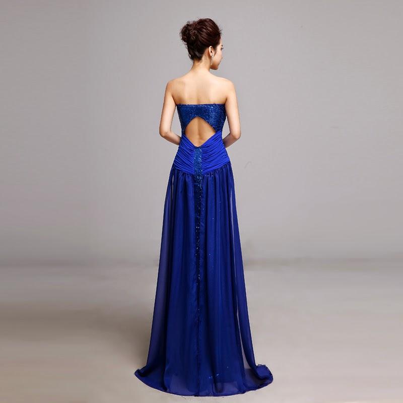 Wedding Gown Malaysia: Sexy Deep V Prom Dress :: My Gown Dress