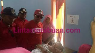 Bupati Lamteng, Kunjungi UPT Puskesmas Seputih Mataram