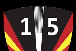 Logo Skadron Udara 15 Vektor AI High Quality