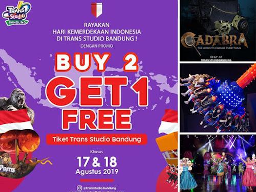 Promo Trans Studio Bandung Agustus 2019
