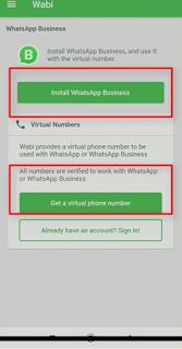 Open Wabi App