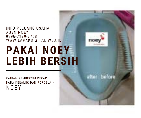 Pembersih keramik paling ampuh Merk Noey