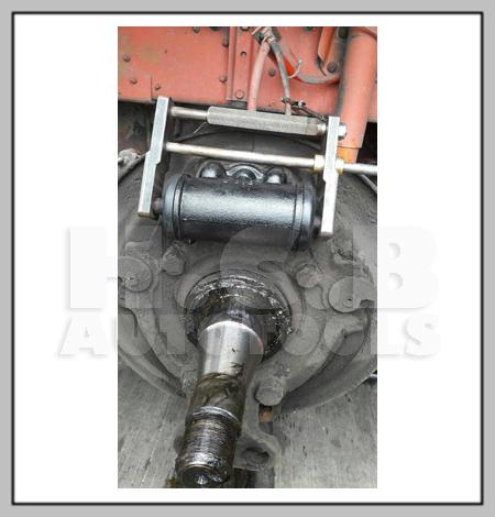 HCB TOOL: H C B-A1681 FUSO/ HINO TRUCK REAR BRAKE SHOES