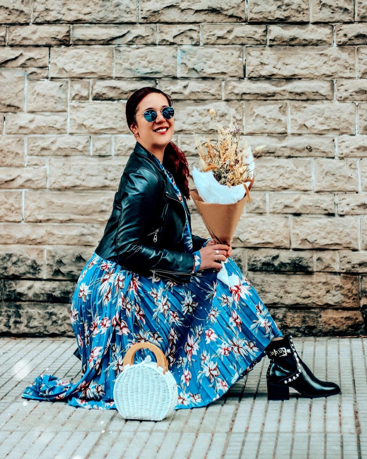maxi vestido floral