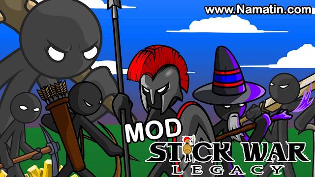 mod stick war legacy offline