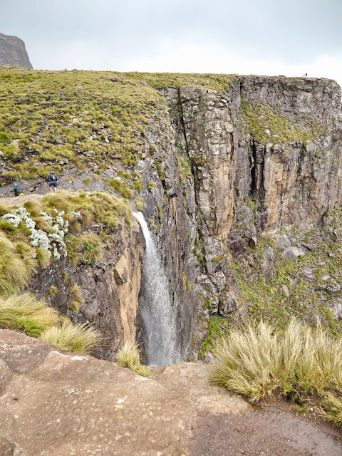 Tugela Falls, Sentinel Peak Amphitheatre hike, Drakensberg National Park, South Africa