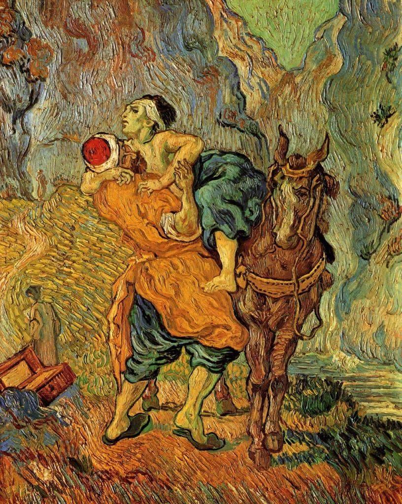 """El buen samaritano""""   (Mayo, 1890)"""
