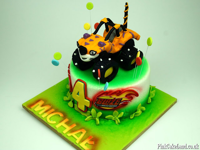 Blaze and the Monster Machines Cakes London