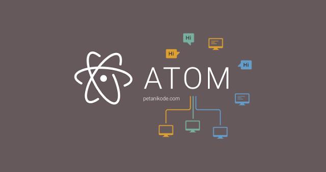 inakri.com   install text editor atom di ubuntu