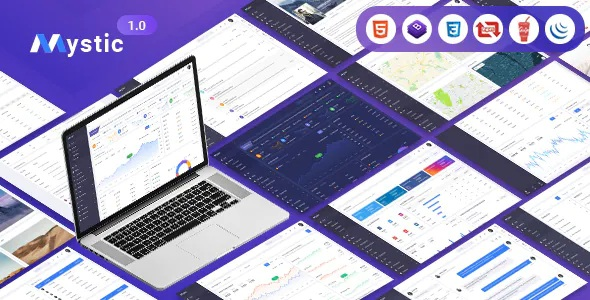 Multipurpose Dashboard Bootstrap Template