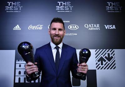 أفضل لاعب في العالم موسم 2019 اللاعب الأرجنتيني ميسي
