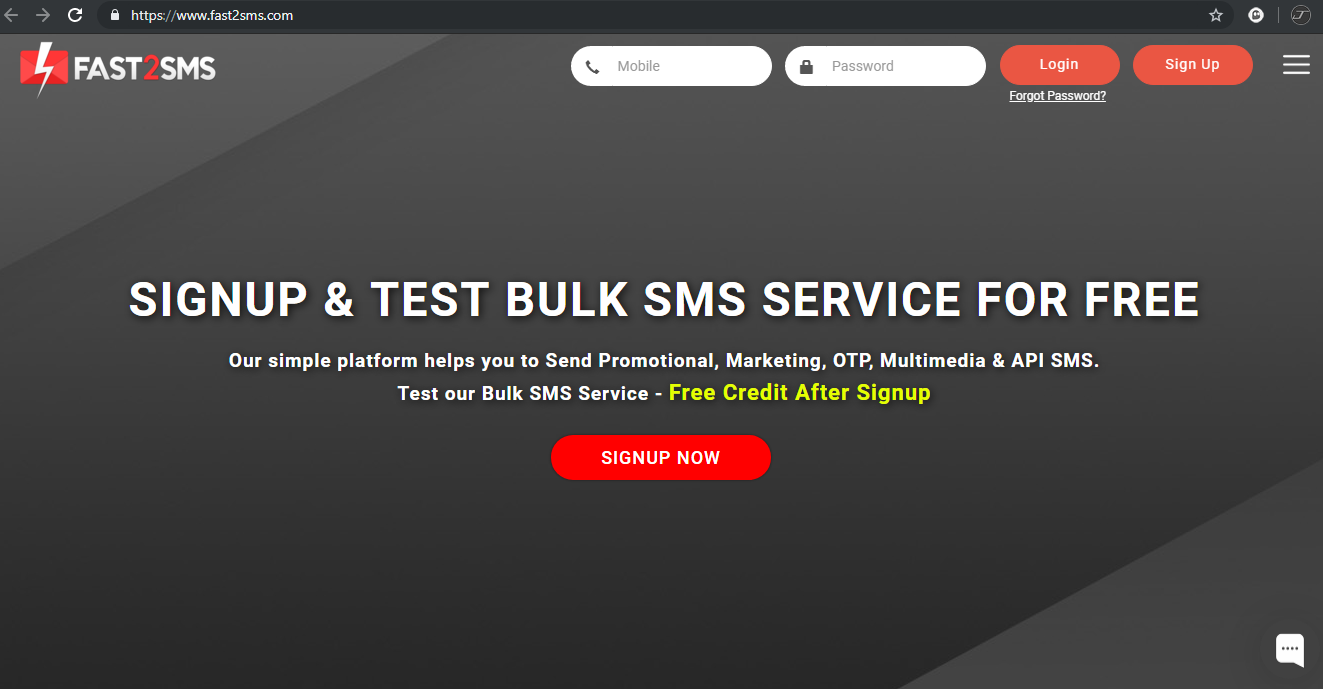 Fast2SMS - Review | Best Bulk SMS Service Provider in India