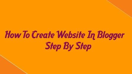 How To Start a Blog-Tatorial Srep By Step