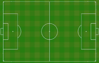 Soal Materi Sepak Bola - Ukuran Lapangan Sepak Bola