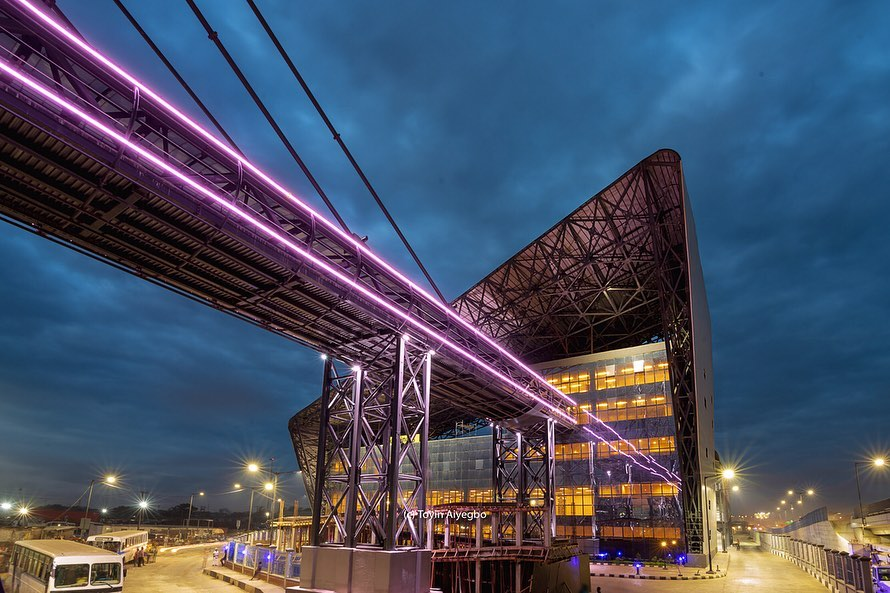 See The Breathtaking Pictures of The New World Class Oshodi Transport Interchange