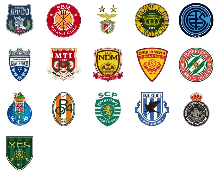 nombres verdaderos de los clubes de la liga de portugal