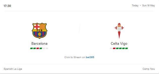 Barcelona vs Celta Vigo Preview and Prediction 2021