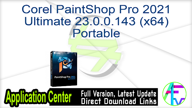 Corel PaintShop Pro 2021 Ultimate 23.0.0.143 (x64) Portable