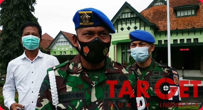 Denpom Divif 2 Kostrad Kirim Bantuan untuk Korban Bencana Alam di Nganjuk dan Semarang