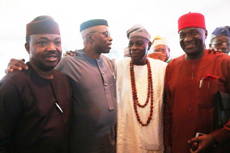 Photos From Olu Falae's 80th Birthday