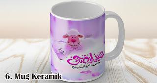 Mug merupakan salah satu rekomendasi pernak-pernik souvenir untuk Idul Adha
