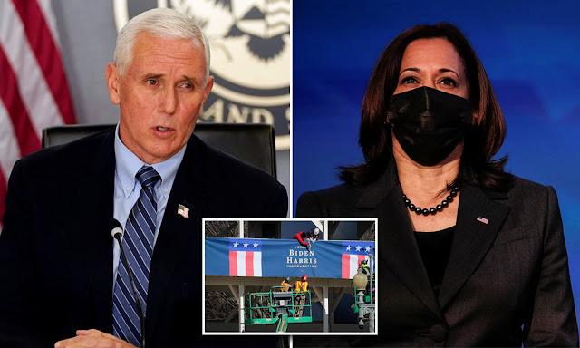 Kamala Harris finally receives congratulatory call from VP Mike Pence