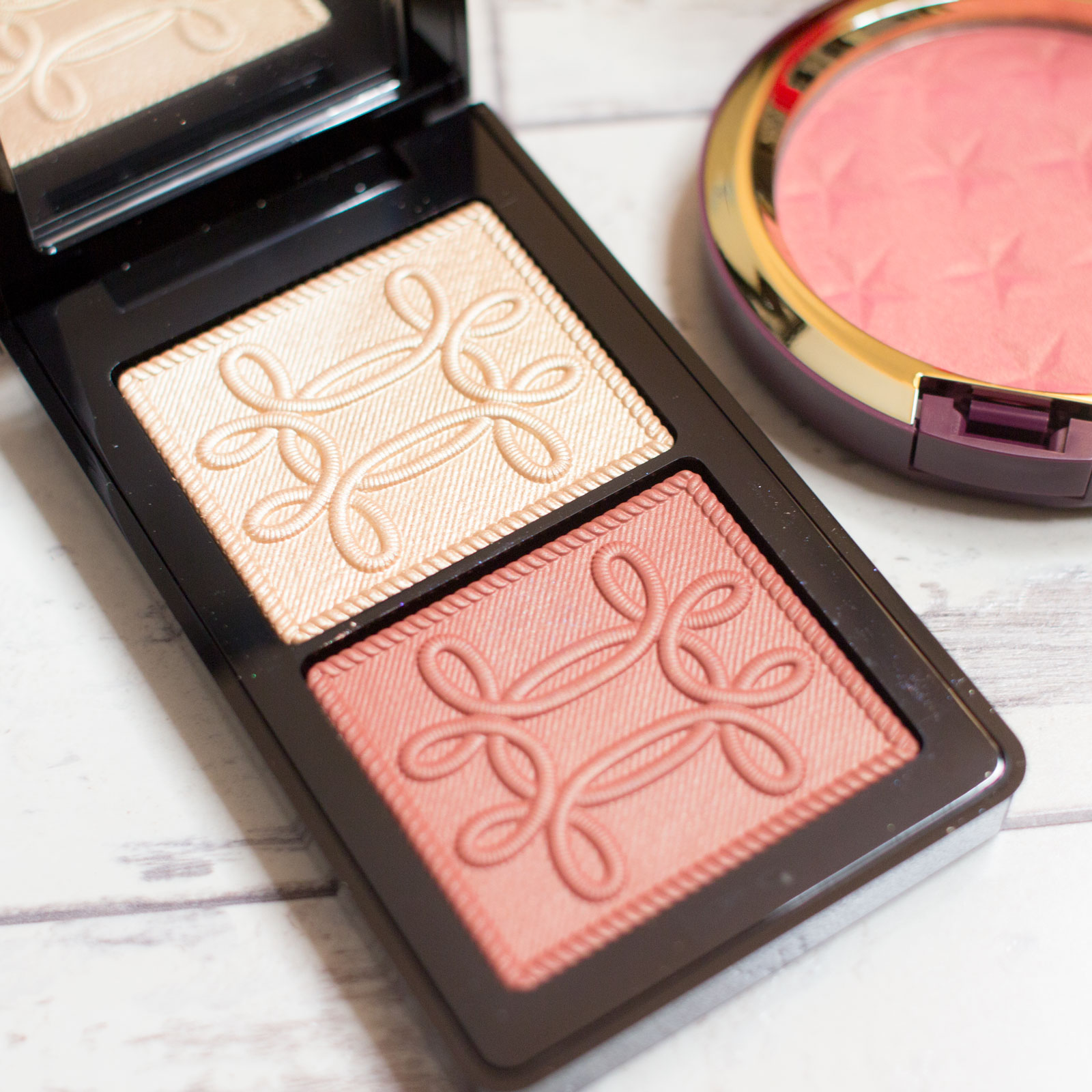 MAC Nutcracker Sweet Copper Face Compact Review Swatches