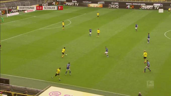 live BUNDESLIGA: Dortmund vs Schalke o4