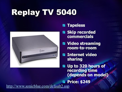 Replay TV ad
