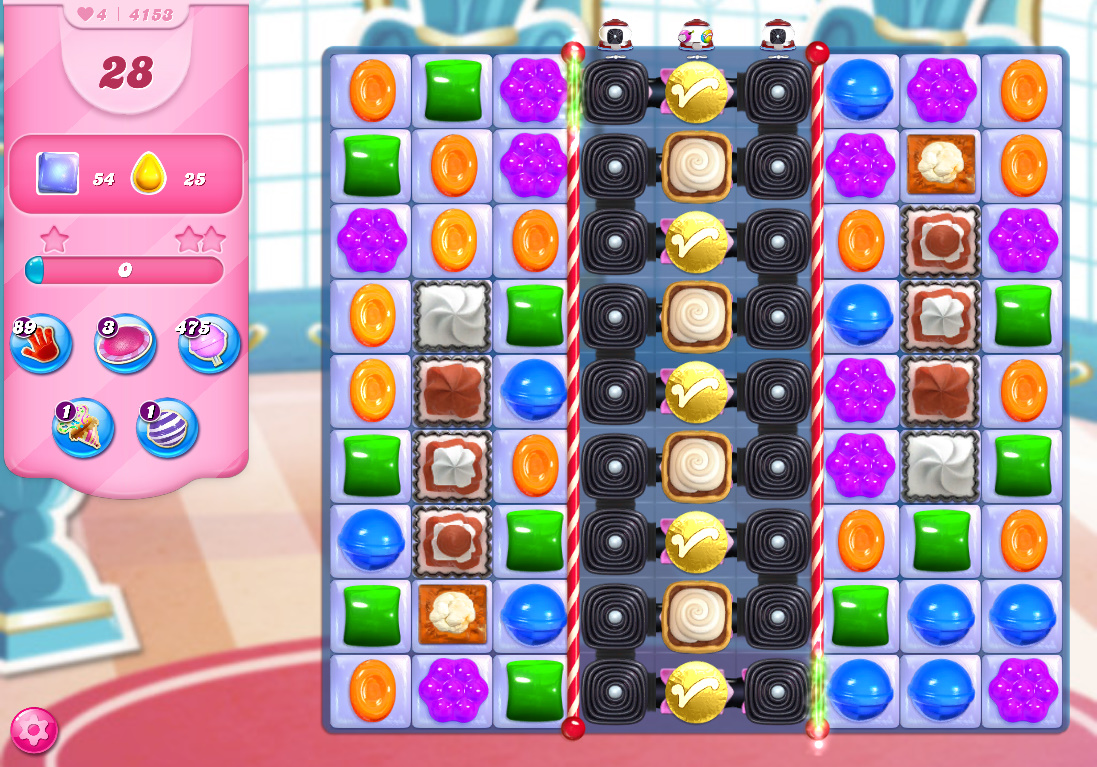 Candy Crush Saga level 4153